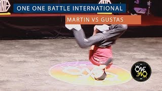 Martin vs Gustas | Eight Finals | ONE ONE BATTLE INTERNATIONAL 2019