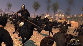 Total War Attila : Лахмиды Часть 2 Гражданская война.