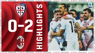 Highlights | Cagliari 0-2 AC Milan | Matchday 18 Serie A TIM 2020/21
