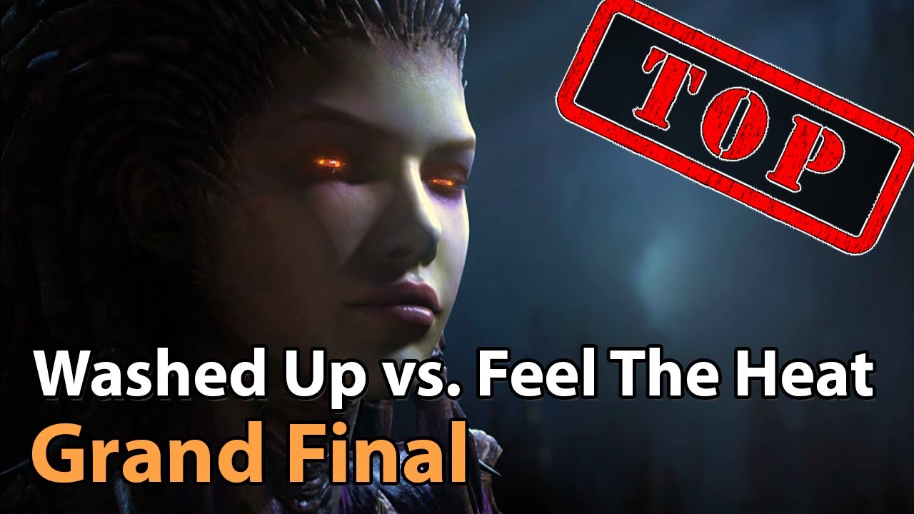► Grand Final: Washed Up vs. Feel The Heat - Panda Cup Finals - Heroes of the Storm Esports