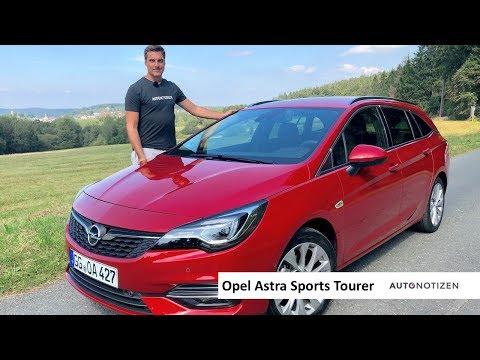 Opel Astra Sports Tourer Facelift 2019: Dreizylinder im Review, Test, Fahrbericht