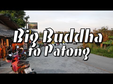 Big Buddha to Patong Motorcycle Ride (GoPro)