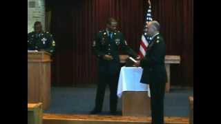 US Army Chaplain Assistant AIT Graduation Receiving of Diplomas