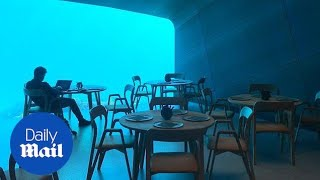 Have dinner underwater at Norwegian restaurant thumbnail