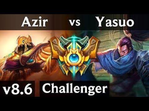 LARS YASUO VS AZIR GAMEPLAY FULLL ANLATIM