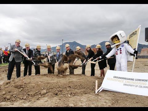CU Boulder breaks ground on new aerospace engineering building