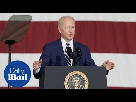 'Looks like she's 19': Biden remarks about girl at VA military base