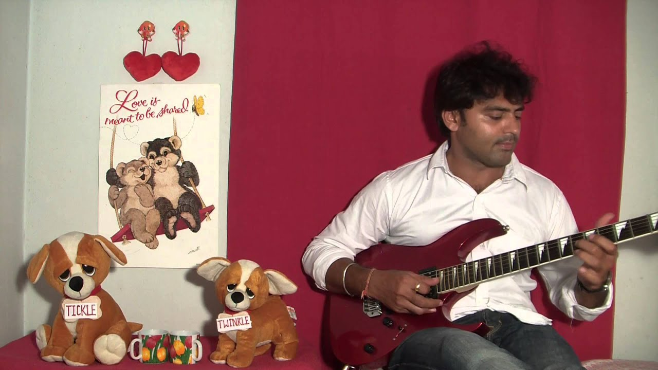 Dheere Dheere Se Meri Zindagi Mein Aana Guitar Instrumerntal Youtube