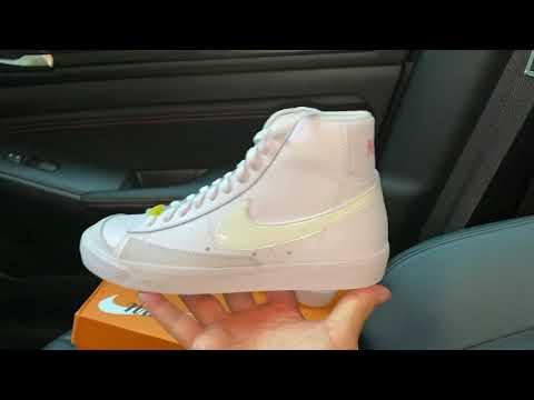 Nike Blazer Mid 77 Digital Pink Womens shoes