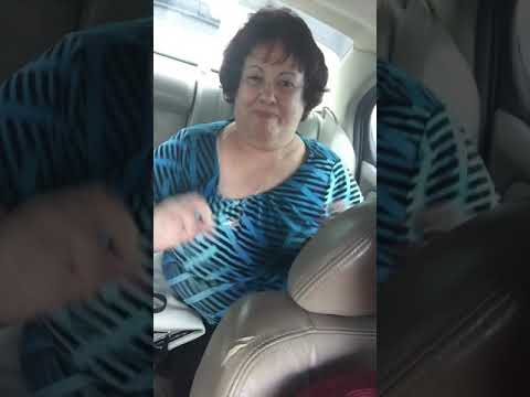 Old lady swinging her boobs to 80s music😂