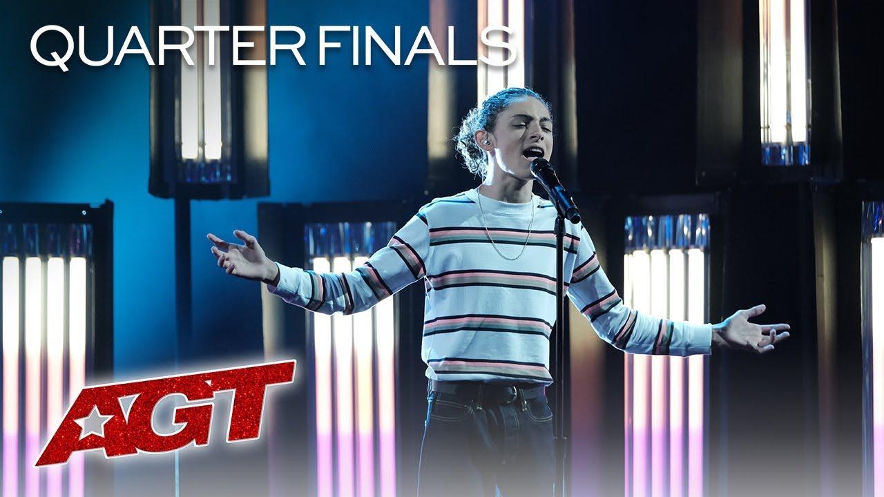 Benicio Bryant: Singer Performs on America's Got Talent Live Quarterfinals Tonight