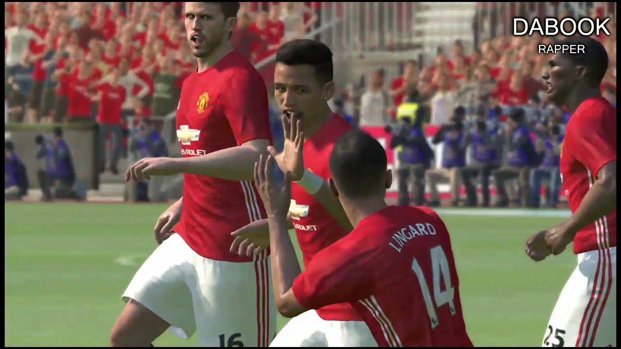 Review Pes 2017 (Pro Evolution Soccer 2017) | Manchester United vs Manchester City