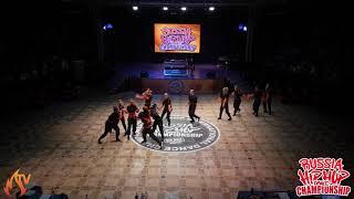 ART FORCE CREW MEGACREW RUSSIA HIP HOP DANCE CHAMPIONSHIP 2019