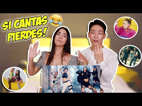 """si Cantas, Pierdes"" Challenge Try Not To Sing 😂 