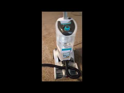 Review- Hoover Smartwash Automatic Carpet Cleaner, FH52000, Turquoise