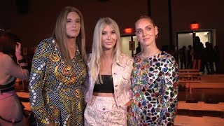 Caitlyn Jenner, Sophia Hutchins and more at Jeremy Scott Fashion Show in NYC