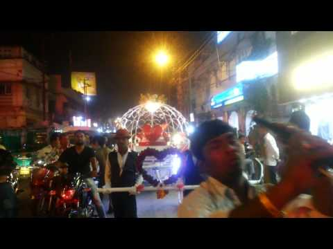 First Lightning Cinderella Carraige India n World.. (Deepak's Barat 25 November 2016)