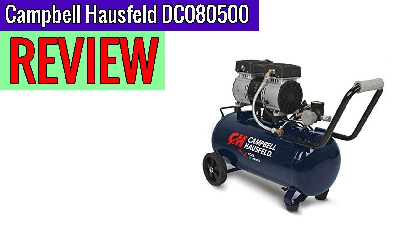 DC080500 8 Gallon Campbell Hausfeld Portable Quiet Air Compressor