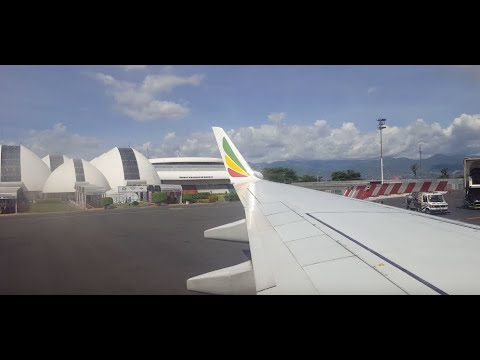 ATTERRISSAGE Sur BUJA | LANDING On BUJUMBURA AIRPORT - VISIT