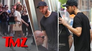 Calvin Harris Spent the Night At Taylor Swift's Place! | TMZ