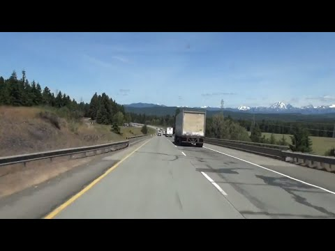 2K14 (EP 37) Interstate 90 in Washington: Desert to Mountains