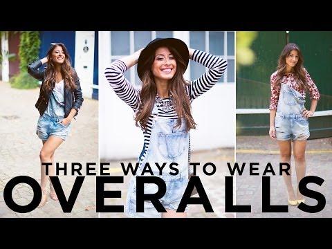 Three Ways To Wear Overalls