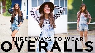 Three Ways To Wear Overalls Thumbnail