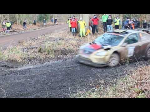 Wyedean Rally 2014 - Bird / Davies Ford Focus 2007 WRC Stage 7 (Serridge)