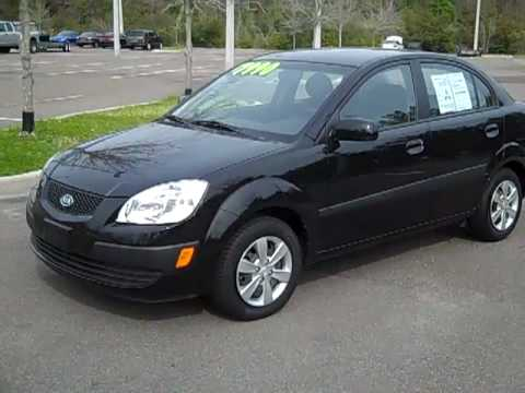 08 Black Kia Rio Lx Used Car Video Gainesville Fl Call