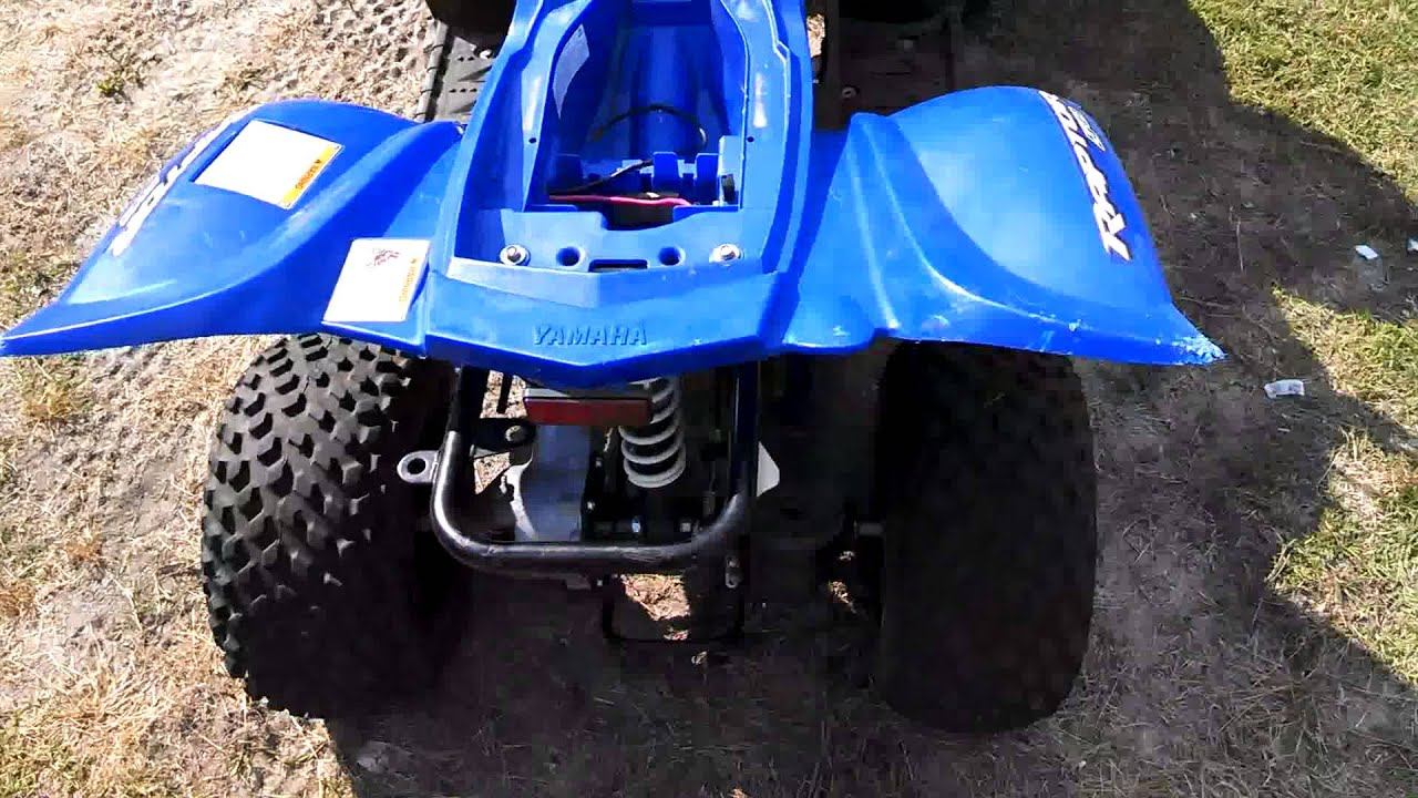 2008 yamaha raptor 50 carb trouble youtube rh youtube com