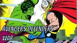 Лучшее противостояние в комиксах - Мстители против Защитников (обзор комикса)