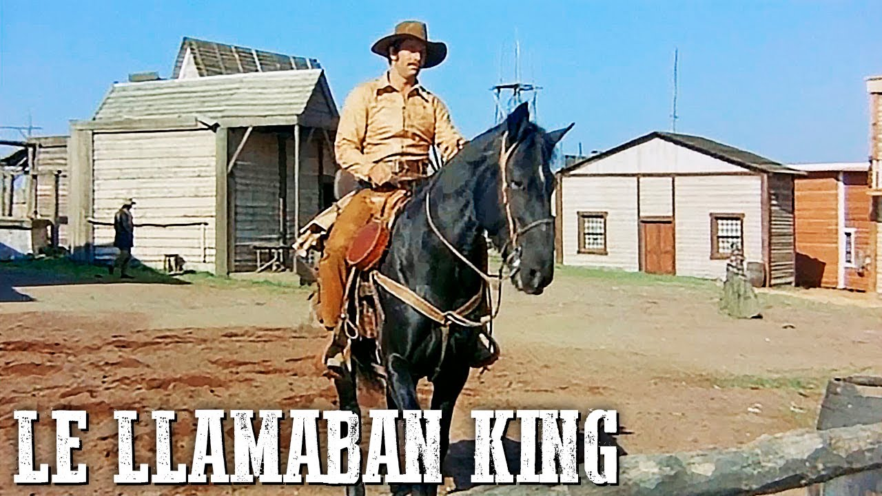 Le llamaban King   KLAUS KINSKI   Cine Occidental Español   Salvaje Oeste   Vaqueros   Español
