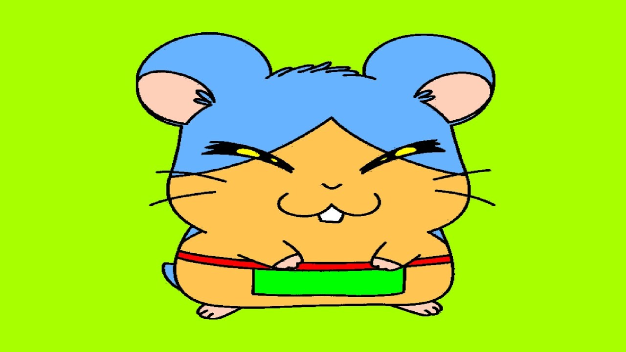 Hamtaro Cartoon Coloring Pages - YouTube