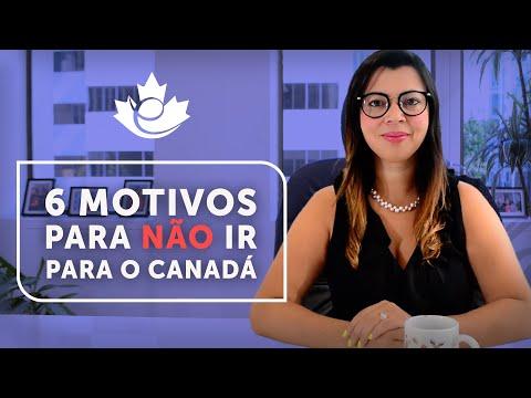 6 MOTIVOS PARA VOCÊ NÃO IR PARA O CANADÁ!