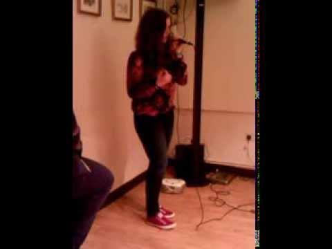 Don't You Worry Child - Hannah Gordon - Sally McNally's Talent Competition Semi-Final 15/11/13