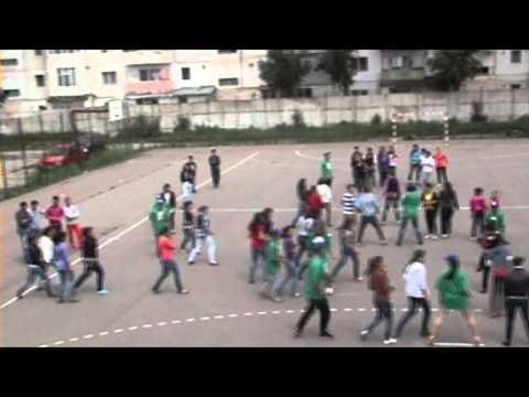 High Schools Sports & intelligence Cup (Romania 2012) {Fist Edition (2012)} {Flash Mob}