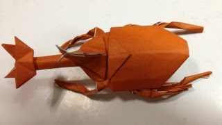 折り紙 カブトムシ 折り方 作り方 thumbnail