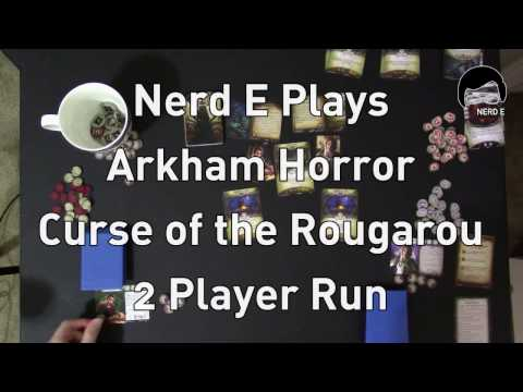 Arkham Horror LCG Curse of the Rougarou 2 Players