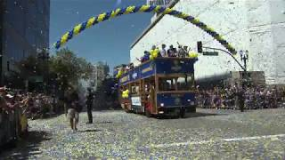 Celebrate Like a Pro: BART to Warriors Parade