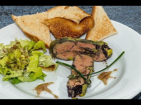 recette de foie gras au vin rouge pour no l fa on tupperware et thermomix youtube. Black Bedroom Furniture Sets. Home Design Ideas