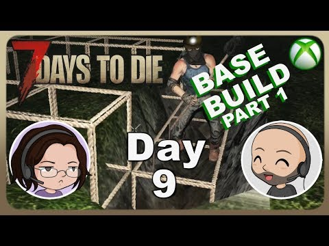 xbox-one-7-days-to-die-|-day-9-|-couple-let's-play-|-building-a-base-1