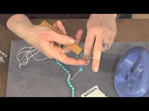 How to Make A Knotted Bead Necklace