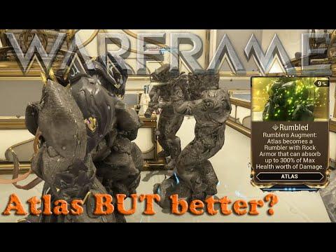 Warframe - Atlas Rumbled Augment [Better Than Iron Skin?] thumbnail