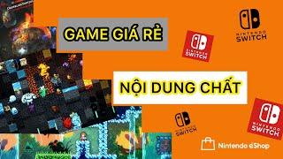 Tuyển tập game Nintendo Switch giá rẻ đáng nhất mua trên eShop