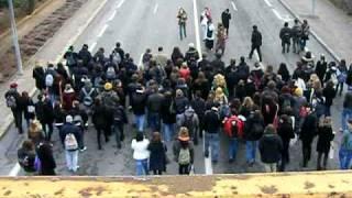 Auxerre  29 Janvier - Descente vers le Pont Paul Bert 3