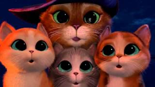 Мультфильм для детей Кот в сапогах Шрек
