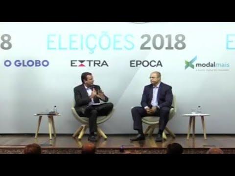 Paes e Wtizel debatem pelo governo do Rio de Janeiro