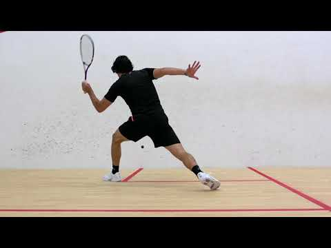 Squash tips: Hitting the ball on the rise!