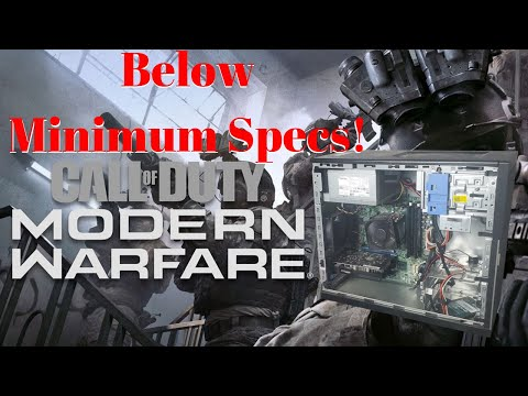 $150 Gaming PC VS Call Of Duty Modern Warfare