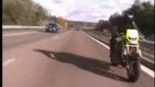 Ghost Rider ! Tek Tekerde  300 km